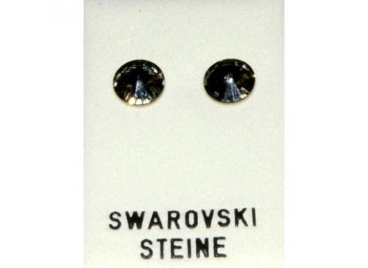 Ohrstecker, Black-Diamondfarben
